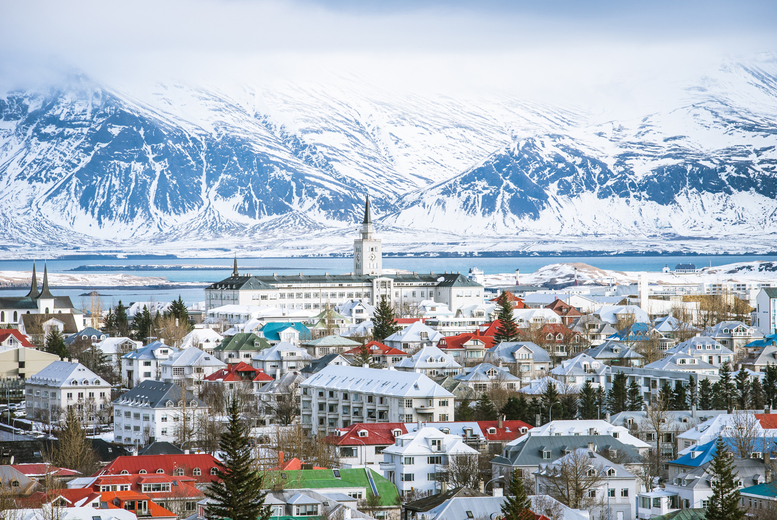 Image of A Reykjavik, Iceland hotel stay with return flights from five airports - With the ability to choose your flight!