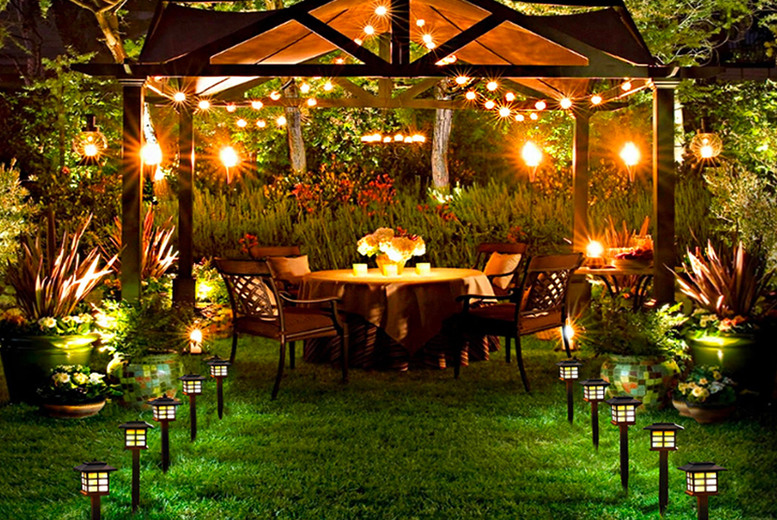 Image of From £14 for a set of decorative garden solar lights from Forefront - save up to 70%