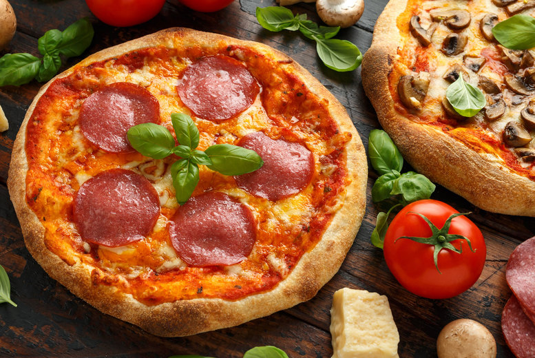 Image of £9.90 instead of £17.90 for a pizza pasta dish each for 2 at Caffe Latino, Liverpool. Or £18.90 for four people - save up to 45%
