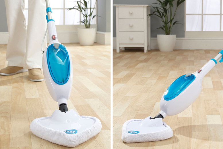 Image of £19.99 nstead of £79.99 for an Easy Steam steam mop from CJ Offers - save 75%