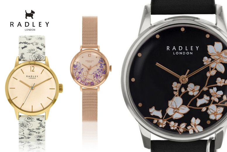 Image of From £24.99 instead of from £69.95 for a Radley watch from Brand Arena - choose from 17 designs and save up to 64%