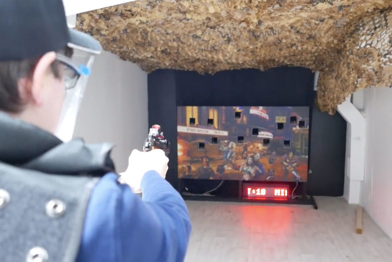 Image of From £49 for an airsoft target shooting experience for two people at London Escaped. Or from £69 for four people - save up 35%