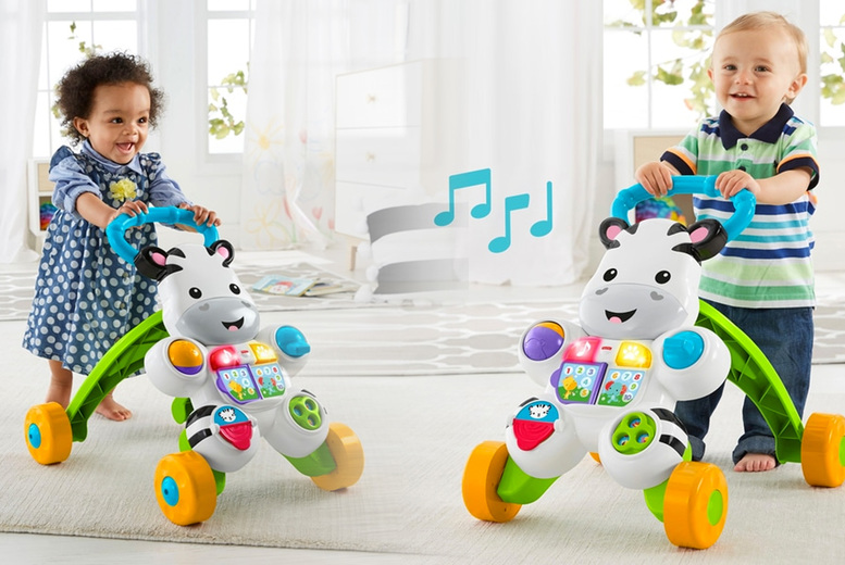 Image of £19.49 for a Fisher-Price zebra baby walker from Dealberry!