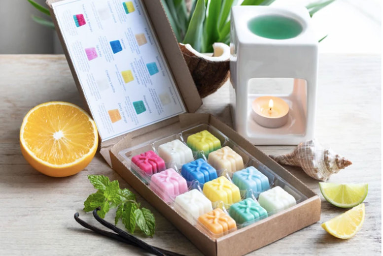 Image of £6.99 instead of £11.99 for a box of 12 citrus fresh wax melts from Graces Court - save 42%