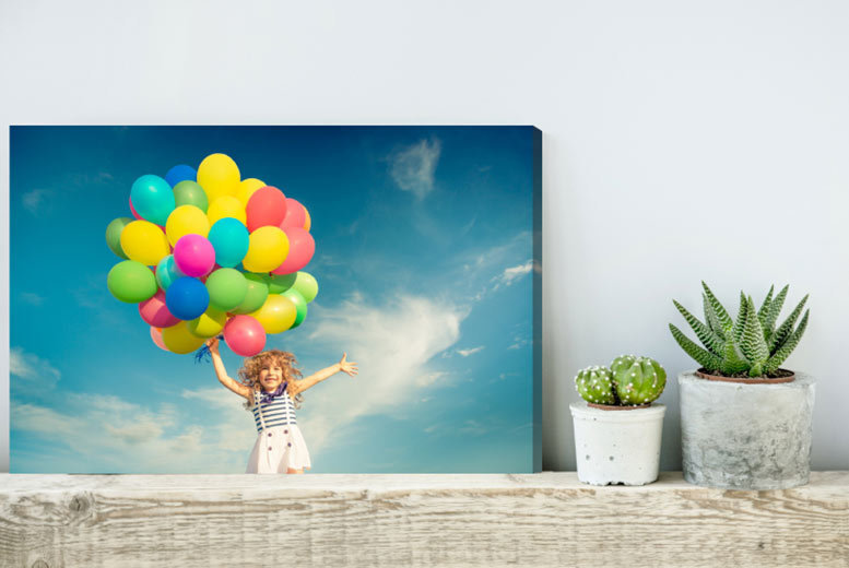 Image of From £2.99 for a personalised canvas - choose from A4 or A3 from Fab Deco Ltd - Deco Matters - save up to 90%