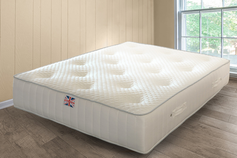 Image of From £104 instead of £399.99 for a luxury spring mattress from UKFurniture4U - choose from three sizes and save up to 74%
