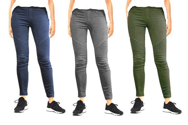 Image of £11 for women's stretch slimming trousers from boni caro!