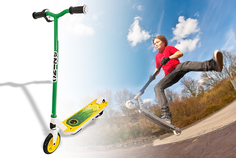 Image of £90 for a Zinc Volt Xt electric scooter from Deal Berry!