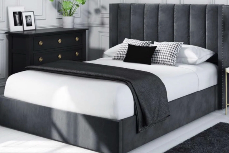 Image of From £299 instead of £549 for a single The Elegance Bed from Beds & Co - choose your size, mattress option, colour and save 46%