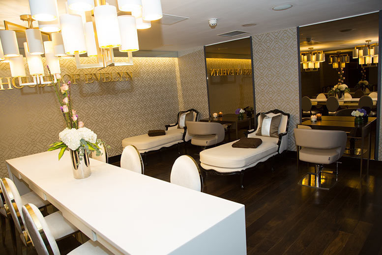 Image of £69 for 90 minutes of spa treatments and an afternoon tea for one at House of Evelyn, Southport