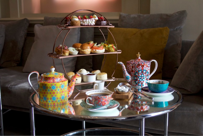 Image of £29 instead of £78 for an afternoon tea for two people at 5* Andaz Hotel, City of London including a glass of Prosecco each - save 63%