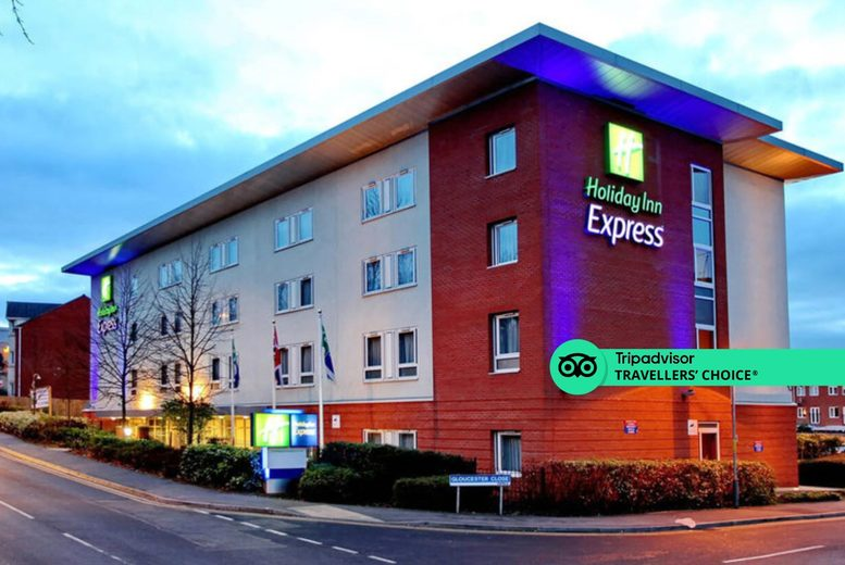 Image of A Redditch, Birmingham stay at the Holiday Inn Express Birmingham, Redditch for two people with two-course dinner, breakfast and 1pm late check out. £99 for two nights with dinner on first night only - save up to 41%