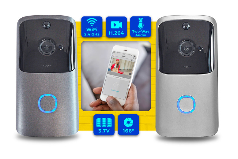 Image of From £26.99 instead of £85 for a smart wireless video doorbell from Simply Brands