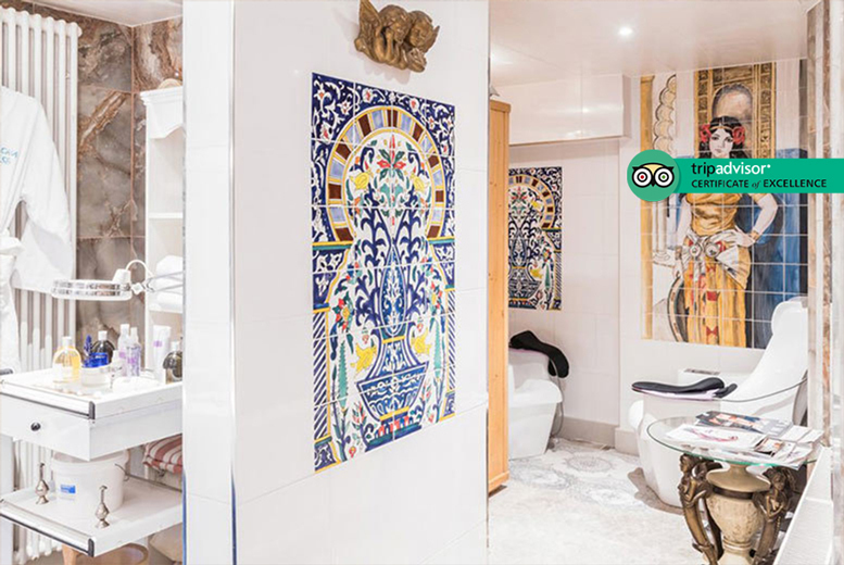 Image of £39 instead of £129 for a luxury hammam spa experience for one person at Casa Spa, Edgware Road, including two treatments, or £78 for two people - save up to 70%