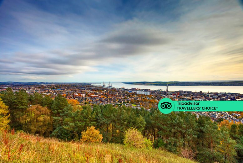 Image of A Dundee, Scotland stay at Best Western Queens Hotel for two people with breakfast, one bottle of Prosecco and 1pm late checkout. £59 for one night, or £109 for two nights - save up to 42%