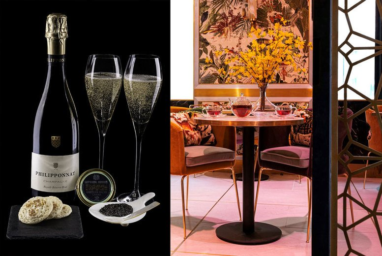 Image of £49 instead of £116 for caviar for two people and a glass of Champagne each at Arc Le Salon, Mayfair - save 58%