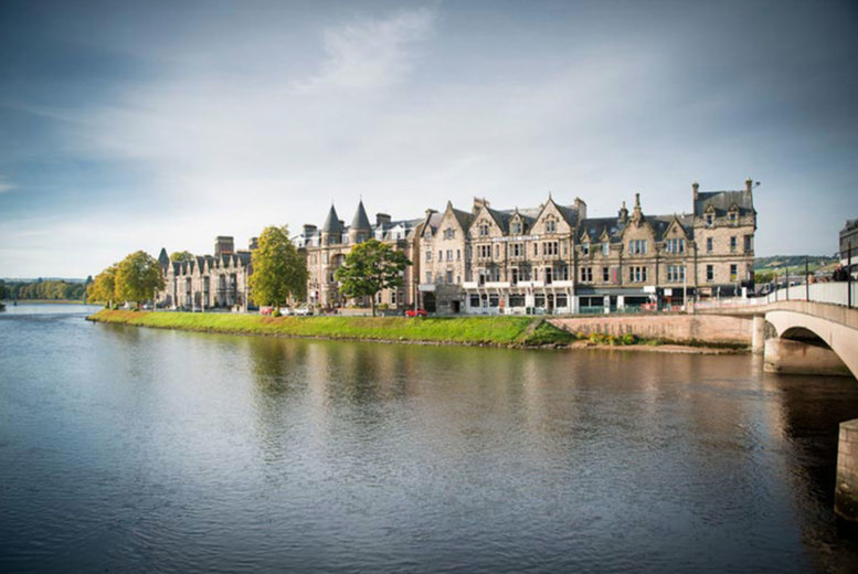Image of An Inverness, Scotland stay at Columba Hotel for two people with breakfast and late checkout. £79 for one night, or £139 for two nights - save up to 57%