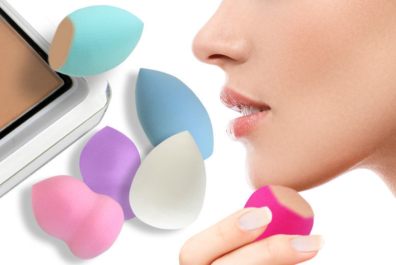 The Best Deal Guide - £1.99 instead of £7.99 for a cosmetic blending sponge available in a flat bottom, hourglass or teardrop design from Ckent Ltd - save 75%
