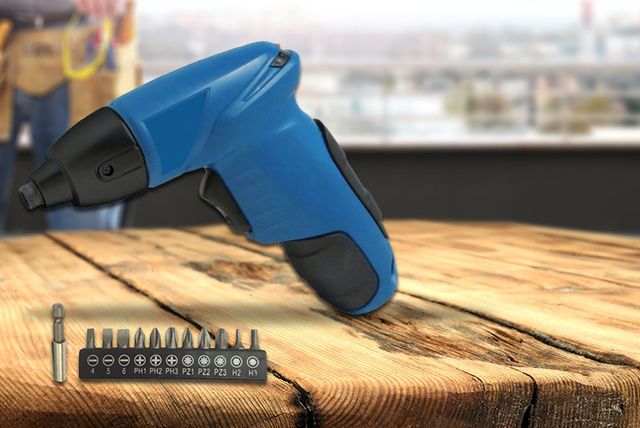 12-Piece TLD 4.8v Cordless Electric Drill