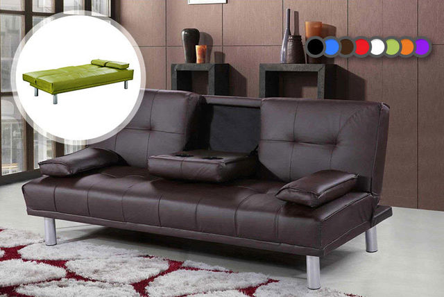Manhattan Cinema Sofa Bed with Cup Holders 8 Colours