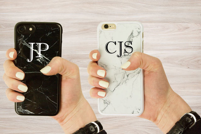 new photos c96a1 d07a5 Personalised 'Marble' iPhone Case | Shopping | LivingSocial