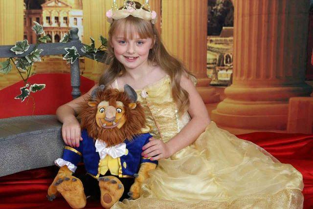 Beauty The Beast Or Princess Childrens Photoshoot London