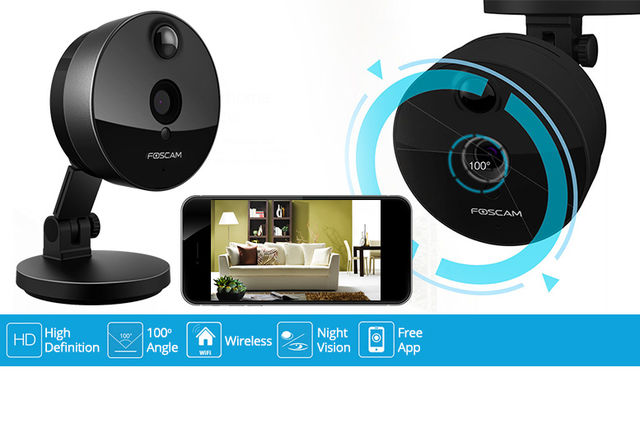 Foscam App Controlled Wireless HD Security Camera | Shopping