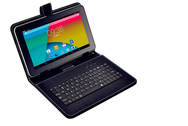 """Smartpad Lite 9"""" Android Quadcore Tablet with Keyboard Case"""