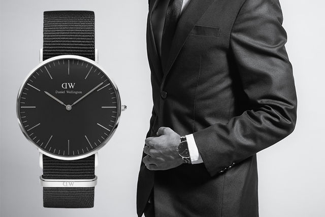 5fbb57c244d6c Daniel Wellington Classic Black Cornwall Watch
