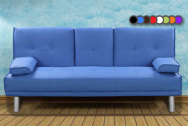 Manhattan cinema sofa bed with cup holders 8 colours for Sofa bed 549 artek