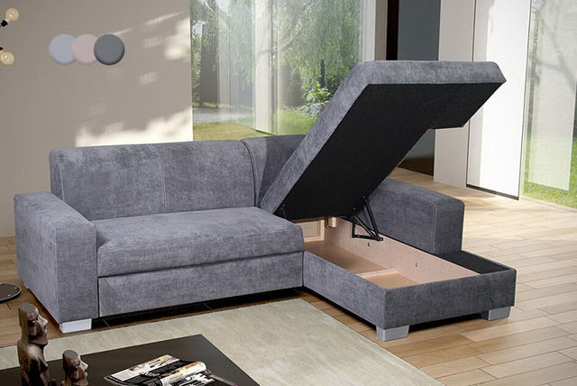 Corner Sofa Bed With Storage Uk | Baci Living Room