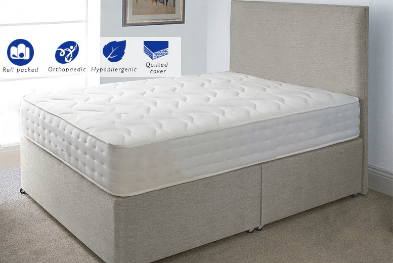 The Best Deal Guide - £59 instead of £359.01 for an Evolution Interactive orthopaedic memory sprung single mattress, £79 for a small double or a double or £99 for a king-size - save up to 84%