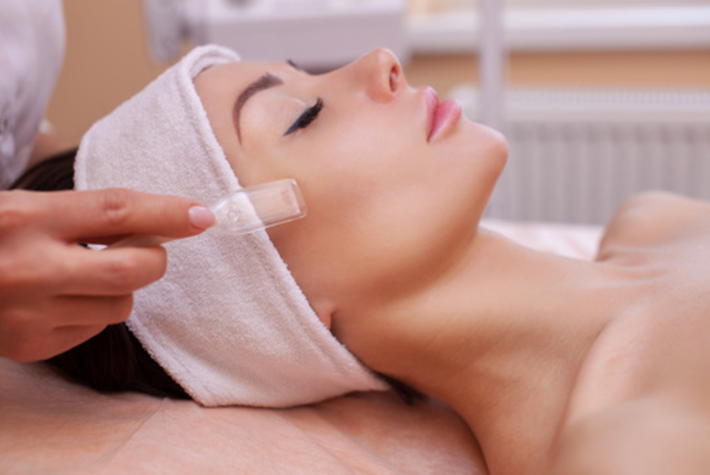 The Best Deal Guide - £21 instead of £55 for a microdermabrasion treatment from Caroline's Hair, Nails & Beauty Salon - save 62%