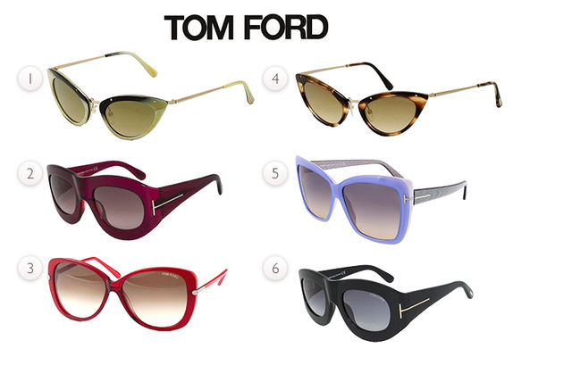 b72afce3dc Tom Ford Sunglasses - 12 Styles!