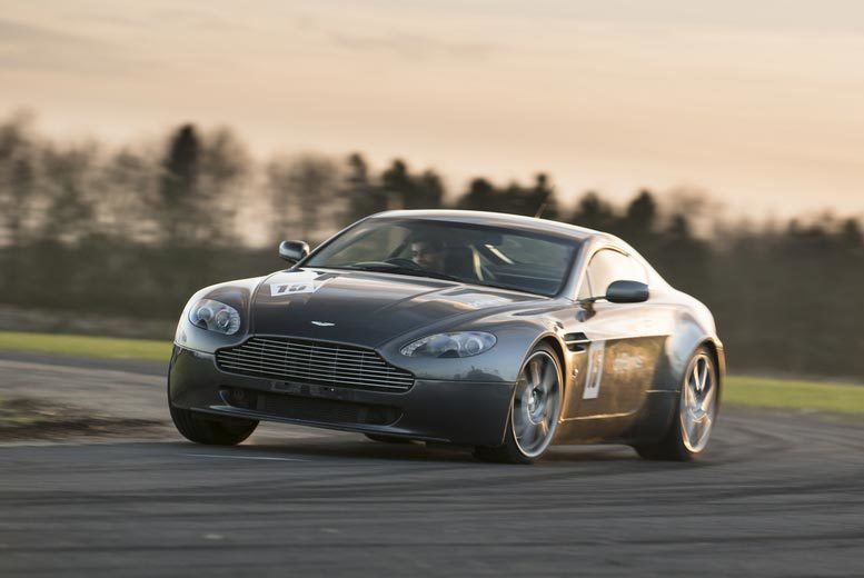 DDDeals - £69 instead of £139 for a 14-lap Aston Martin V8 Vantage supercar experience with Drift Limits, Hemel Hempstead - save up to 50%
