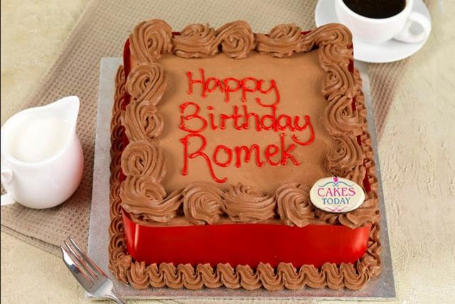 GBP12 Instead Of GBP2399 For A Personalised Hand Made Cake Delivered To Your Door From Cakes Today London