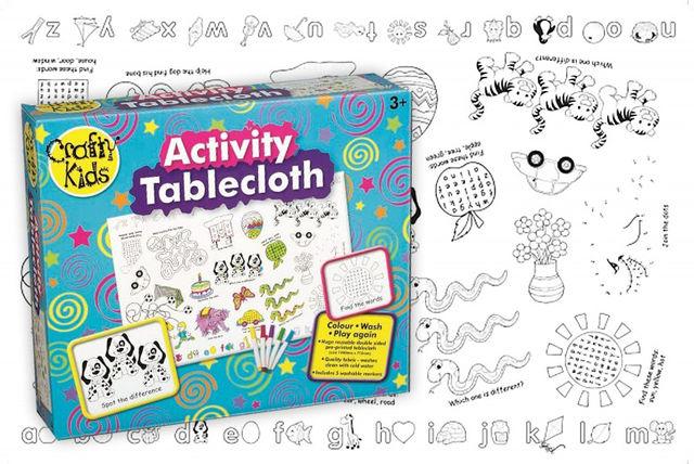 Kids Washable Activity Table Cloth Shopping Livingsocial
