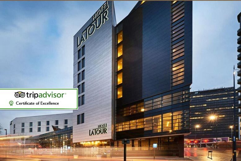 DDDeals - £129 for an overnight stay for two people in an executive room with breakfast at the 4* Hotel La Tour, plus dinner allowance at Marco Pierre White, Birmingham - save up to 28%