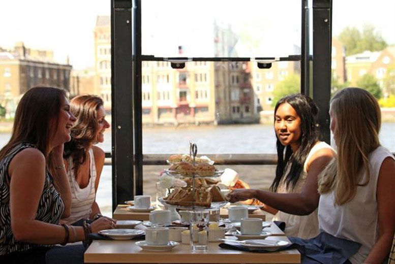 DDDeals - From £89pp (with OMGhotels.com) for a 3* overnight London stay including an afternoon tea cruise on the Thames