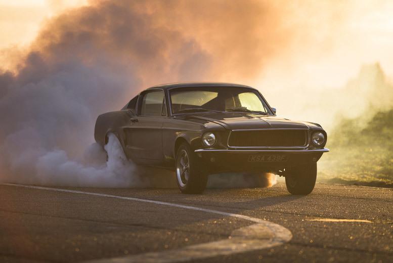 DDDeals - £69 for a 14-lap Bullitt Mustang driving experience from Drift Limits, Hemel Hempstead - save 50%