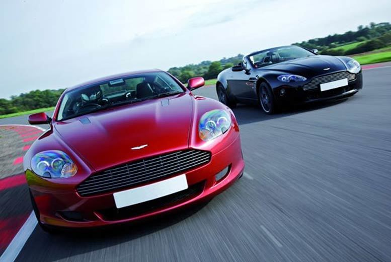 DDDeals - £59 for a Lamborghini and Aston Martin double supercar driving blast experience at a choice of over 15 locations from Buyagift!