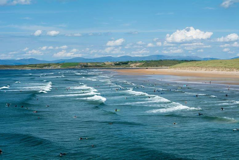 DDDeals - £55 for an overnight County Donegal stay for two people with breakfast and a late checkout, £95 for two nights at Grand Central Hotel, Bundoran - save up to 41%