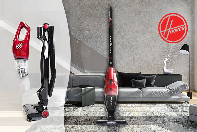The Best Deal Guide - £59 instead of £123.95 (from Electronics & Gadgets Direct) for a Hoover Free Motion 2-in-1 cordless vacuum cleaner - save 52%