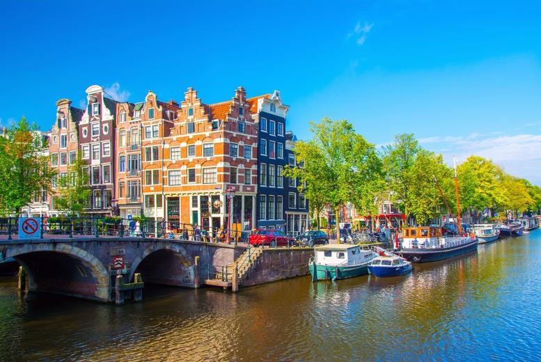 2-3nt Amsterdam, B'fast & Flights - 7 Airports!