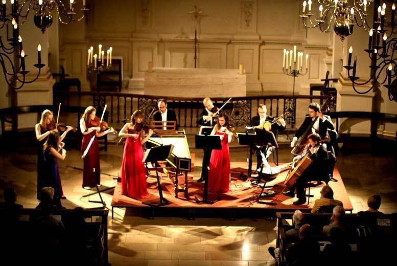 DDDeals - From £14 for a ticket to Bach Concertos by Candlelight with a programme and CD single - choose from seven locations and save up to 46%