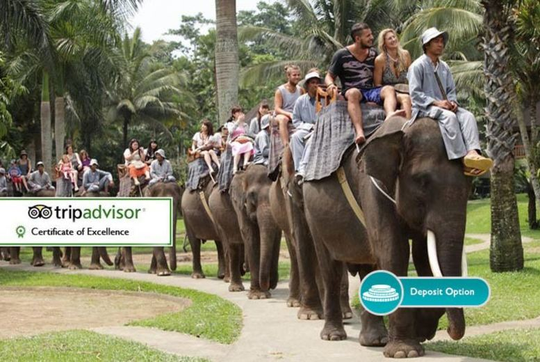 10-day Bali Escape with Stay @ Elephant Safari Lodge, Tours & More!