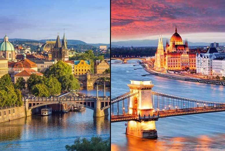 4nt Prague & Budapest, Flights & Trains - 6nt Option with Vienna!