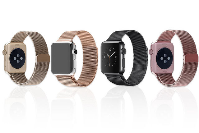 2d47fb2126 Milanese Loop Stainless Steel Band for Apple Watch - 8 Colours ...