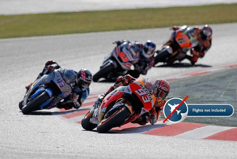 1-3nt Half-Board Costa Brava Stay & Moto GP Weekend Tickets