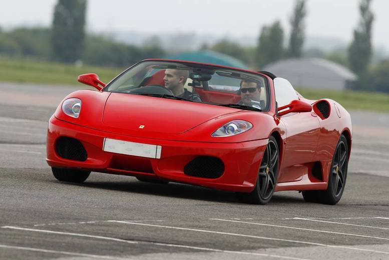 DDDeals - From £39 for a three lap Ferrari driving experience with Experience Limits - save up to 74%